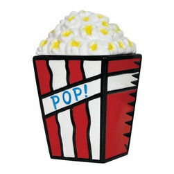 "Westland - 11 Inch Popcorn ""Pop"" Kitchenware Cookie Jar - Red White and Blue - This gorgeous 11 Inch Popcorn ""Pop"" Kitchenware Cookie Jar - Red White and Blue has the finest details and highest quality you will find anywhere! 11 Inch Popcorn ""Pop"" Kitchenware Cookie Jar - Red White and Blue is truly remarkable."