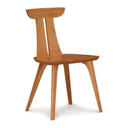 Copeland Furniture - Copeland Furniture Estelle Dining Chair 8-EST-50-03 - The Estelle Chair is crafted in solid walnut or solid cherry.