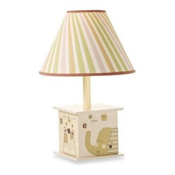 Summer Infant - Nature's Purest Sleepy Safari Lamp - The Nature's Purest Sleepy Safari collection is nature in its simplest form. Lamp includes shade and a 13-watt CFL bulb.