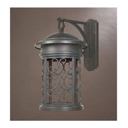 """Designers Fountain - Designers Fountain 31131-MP 1 Light 11"""" Wall Lantern from the Dark Sky Barringto - Features:"""