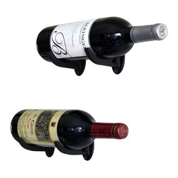 Wine-Wall.com - Wine Saddle - Our Wine Saddle (formerly known as the Exibit-1) wine racking system is a versatile and expandable wine storage system that allows you to mount wine bottles in any space and any surface. The saddle mounts directly to any wall surface with a screw driver and 2 screws per saddle. (Hardware needed to mount the wine rack can be purchased separately)