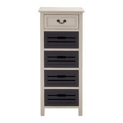Classy Stylish Wood Tall Dresser - Description: