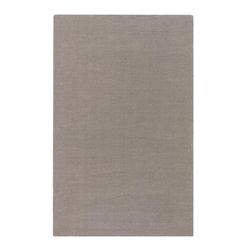 Surya - Surya Mystique 5' x 8' Solid Plush Rug, Gray (M266-58) - Surya M266-58 Mystique 5' x 8' Solid Plush Rug, Gray