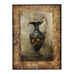 Bassett Mirror Company - Bassett Mirror Old World Grecian Urn I Canvas Art - Grecian Urn I Canvas Art belongs to Old World Collection by Bassett Mirror Company Bassett Mirror is fluent in this art, showing a terrific contemporary furniture that will satisfy on the one hand fans of home coziness, and on the other hand - seekers of non-standard design solutions also. One of the many strengths of the Bassett Mirror is using high quality materials for perfect embodiment of brilliant design ideas. Wall Art (1)