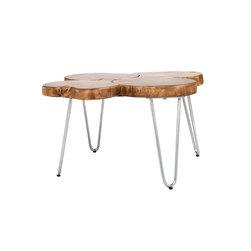 Wabi Sabi, Organic Coffee Table - Organic Wabi Sabi wood coffee table, with stainless steel legs.