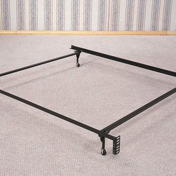Coaster - Bed Frame For Headboard Only, Twin Or Full Size - Bed Frame For Headboard Only, Twin Or Full Size, 4 Legs
