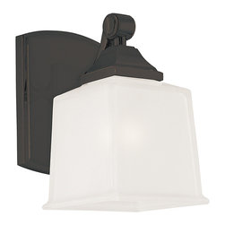 Hudson Valley Lighting - Hudson Valley Lighting 2241-OB Lakeland Old Bronze Wall Sconce - Hudson Valley Lighting 2241-OB Lakeland Old Bronze Wall Sconce