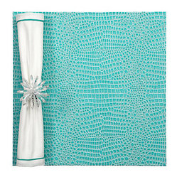 Everglades Placemats - Set of 4 - Aquamarine