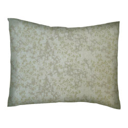 SheetWorld - SheetWorld Twin Pillow Case - Percale Pillow Case - Ivory Floral - Made in USA - Pillow case is made of a durable all cotton percale material. Fits a standard twin size pillow. Features a Ivory Floral print.