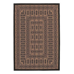 Frontgate - Tamworth All-weather Rugs - 100% fiber-enhanced polypropylene rug. Resistant to fading, mildew, and mold. Rugged enough to withstand months of blistering sun and torrential downpours. Quick-dry outdoor rugs take unexpected summer showers in stride. The rich colors of our Tamworth All-weather Rugs add inviting warmth to sunrooms, stone entryways and patio decks. Uniquely colored, these outdoor area rugs complement the simple yet classic styling of outdoor furniture. . . . . Other rug designs vary by size.