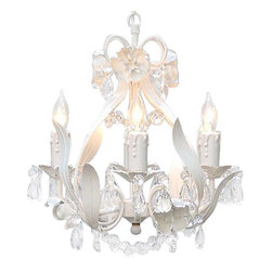 The Gallery - Wrought Iron Floral Crystal chandelier Lighting - The garden collection. Nothing completes a room like a beautiful lighting fixture! This wonderful chandelier is all wrought iron and dressed with 100% crystal. It's graceful design and beautiful lines makes this chandelier truly one of a kind!