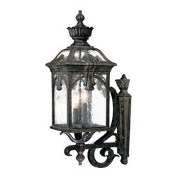 "Acclaim Lighting - Acclaim Lighting 7111 Belmont 3 Light 24.5"" Height Outdoor Wall Sconce - Acclaim Lighting 7111 Belmont Three Light 24.5"" Height Outdoor Wall SconceThis wall sconce from the Belmont Collection of exterior lights features a multitude of ornamental accents and baroque flourishes.Acclaim Lighting 7111 Features:"