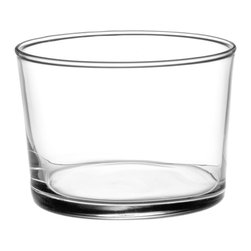 Bormioli Rocco Bodega Tumbler Mini Glasses, Set of 12 - I love a simple low tumbler for a weeknight red wine. You'll find these glasses at wine bars all over Paris. No need for stems or pretension.