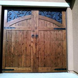 Mediterranean Garage Doors - Tungsten Royce
