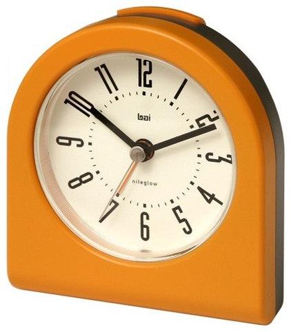 Midcentury Alarm Clocks by Bellacor
