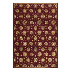 "Kas Rugs - Kas Cambridge 7350 Red 7'7"" x 10'10"" Area Rugs - Kas Cambridge 7350 Red 7'7"" x 10'10"" Area Rugs"