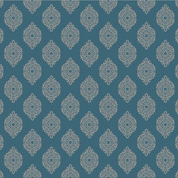 Blue Garden Gate Waverly Small Prints Collection - Waverly small prints collection is full of modern prints that are easy to fall in love with and sure to add personality to any room.