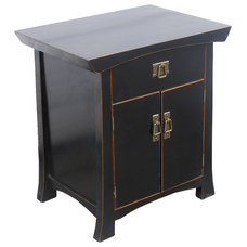 Contemporary Nightstands And Bedside Tables by Golden Lotus Antiques