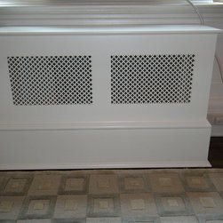 Prewar Radiator Cover - Custom trim and edge details to match existing unit.