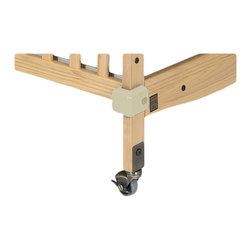 Foundations - Foundations Crib Saver Crib Bumpers with Antique Brass Hardware - Protect all your cribs, walls and other furnishings from damage. Antique brass for natural cribs. Crib Saver crib bumpers fit Biltmore & Safety Craft Cribs with antique brass hardware for natural cribs Almond/Brass