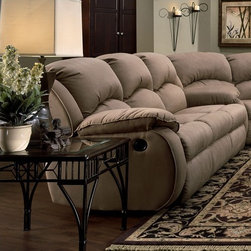 Recline Designs - Gabriella Queen Sleeper Sofa - 705-36 - Gabriella Collection Queen Sleeper Sofa
