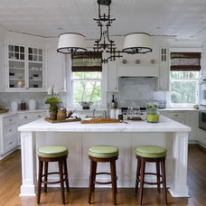 Traditional Kitchen by Marie Grabo Designs