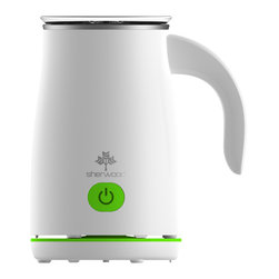 Sherwood Housewares - Sherwood Automatic Electric Milk Frother, Green - * Hot Froth, Hot Milk or Cold Froth