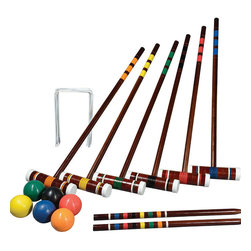 Franklin Sports Intermediate 6-Player Croquet Set - Picnics aren't complete without games. Croquet, anyone?