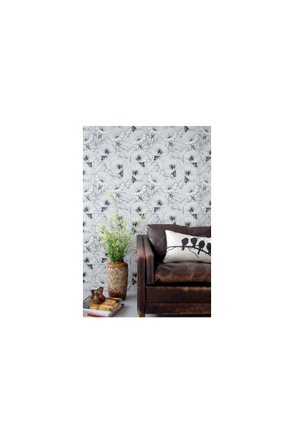 contemporary wallpaper by FJORN Scandinavian