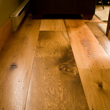 Contemporary Hardwood Flooring by Montana Reclaimed Lumber Co.
