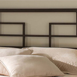 Hillsdale - Terrace Headboard - Angular and contemporary,the Terrace Bed features a square headboard and footboard with a modern geometric design to create a fresh and interesting effect.