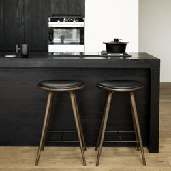 High Stool, Bar Height - Premium Finish - Designed by Space for Mater