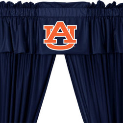 Store51 LLC - NCAA Auburn Tigers 5pc Long Curtain-Drapes Valance Set - FEATURES: