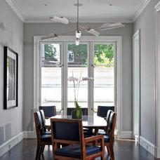 Contemporary Dining Room Katz/Northworks Architects
