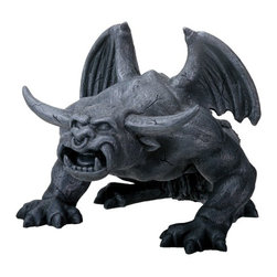 Summit - Bull Horned Gargoyle - Collectible Figurine Statue Sculpture Figure - This gorgeous Bull Horned Gargoyle - Collectible Figurine Statue Sculpture Figure has the finest details and highest quality you will find anywhere! Bull Horned Gargoyle - Collectible Figurine Statue Sculpture Figure is truly remarkable.