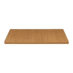 HON - HON Hospitality 1311 Table Top - Square - 36 x 36 - Polyvinyl Chloride (PVC) - 36 square hospitality tabletop is designed for use with HON Hospitality Table Bases with a single column. Features include a 1-1/8 thick high-pressure, Harvest laminate top surface and 2mm matching edges made with a vacuum-formed membrane press application of rigid PVC vinyl. Tops and bases are sold separately. Table meets or exceeds applicable ANSI/BIFMA standards.
