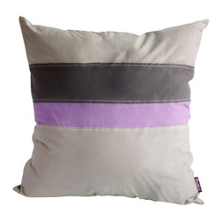 Blancho Bedding - [Simple Style] Knitted Fabric Patch Work Pillow Floor Cushion (19.7 by 19.7'') - Aesthetics and Functionality Combined. Hug and wrap your arms around this stylish decorative pillow measuring 19.7 by 19.7 inches, offering a sense of warmth and comfort to home buddies and outdoors people alike. Find a friend in its team of skilled and creative designers as they seek to use materials only of the highest quality. This art pillow by Onitiva features contemporary design, modern elegance and fine construction. The pillow is made to have invisible zippers, knitted fabric shells and fill-down alternative. The rich look and feel, extraordinary textures and vivid colors of this comfy pillow transforms an ordinary, dull room into an exciting and luxurious place for rest and recreation. Suitable for your living room, bedroom, office and patio. It will surely add a touch of life, variety and magic to any rooms in your home. The pillow has a hidden side zipper to remove the center fill for easy washing of the cover if needed.