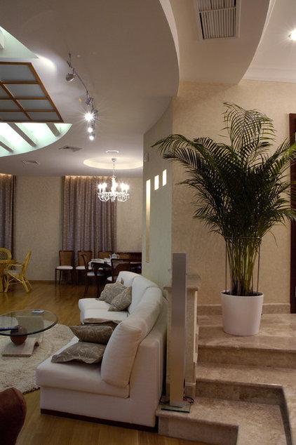 Contemporary Family Room by Zimina Inna