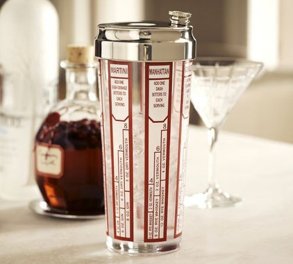 modern barware by Pottery Barn