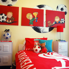 Modern Kids Kix's Soccer Room