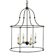 Outdoor Lighting Fitzjames Lantern by Currey and Company