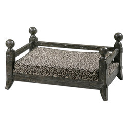 Uttermost - Uttermost 23093 Draylen Designer Pet Bed - Uttermost 23093 Draylen Designer Pet Bed