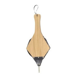 Uniflame - Hand Carved Natural Finish Diamond-shaped Woo - 21 inches wood bellow with long handle is convenient to use.  Skillfully hand-carved bellow reveals a diamond shape emerging from long handle.  Traditional bellow featuring natural wood finish delights with function & appearance.  Hanging loop makes it easy to store bellow where it's readily accessible.  Get your fire blazing within moments using durable wood bellow. * Stylish Bellow is Functional and Attractive. Maintains Fireplace Safety. Allows For Ease and Comfort with Fireplace Maintenance. 21 in. H