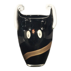 Dale Tiffany - Dale Tiffany PG80155 Santiago Contemporary Vase - Santiago Vase