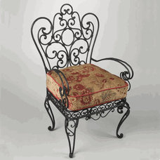 Traditional Chairs by Iron Accents