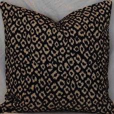 Modern Decorative Pillows Ikat pillow