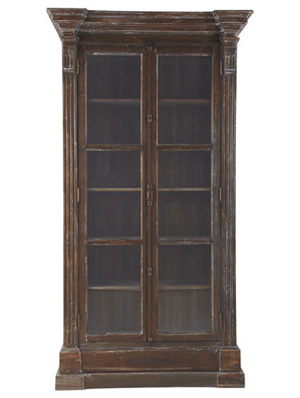 Traditional Bookcases by Wisteria
