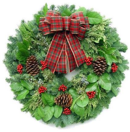 Traditional Wreaths And Garlands by Lynch Creek Farm