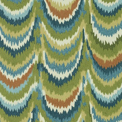 "Loloi Rugs - Loloi Rugs Olivia Collection - Green / Blue, 3'-0"" x 3'-0"" Round - Everything you could want in a rug - gorgeous colors, eye-catching design, and extraordinary texture - is available in the Olivia Collection.  From China, the hooked polyester surface features a high and low effect that adds a third dimension to these playful rugs. Not to mention, only the softest yarns have been selected in order to craft a luxurious covering for your floor. Go ahead - kick off your shoes and dig your feet into it."
