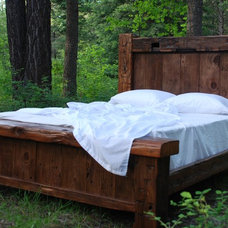 Rustic Beds by Charles Allen Designs